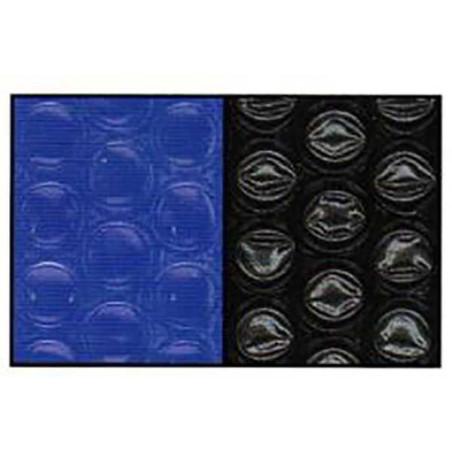 Bâche à bulles sur mesure Bleu/Noir