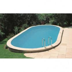 Bâche à bulles sur mesure pour piscine enterrée