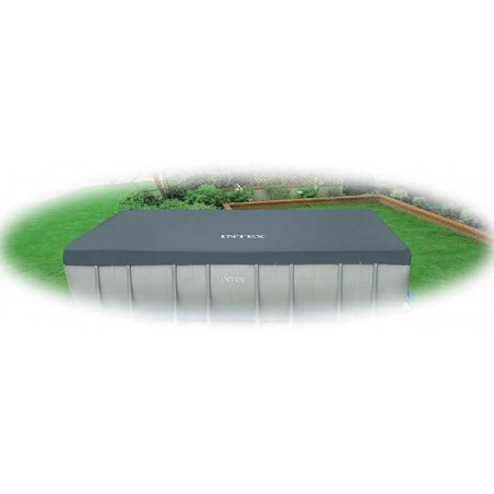 Bâche Hiver Intex pour piscine rectangulaire Tubulaire Ultra Silver