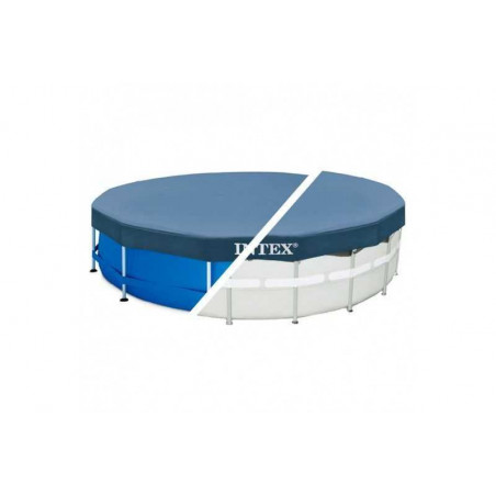 Bâche Hiver Intex pour piscine Tubulaire Metal Frame et Ultra Frame
