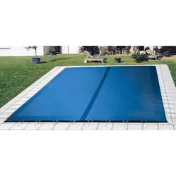 Bâche hiver sur mesure pour piscine enterrée