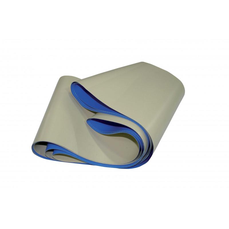 Bande anti-abrasion pour remplacement sur couverture à barres