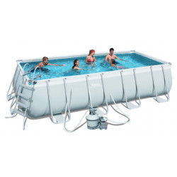 Piscine tubulaire BestwayPower Steel Frame 4