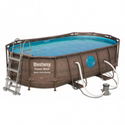 Piscine tubulaire Bestway Power Steel Vista Series 4