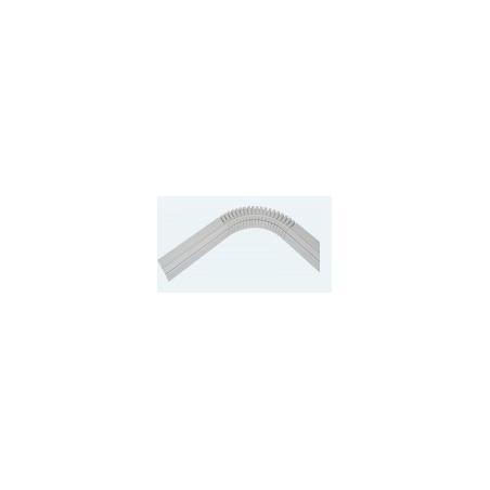 Profilé Horizontal ALU HUNG rayon15cm