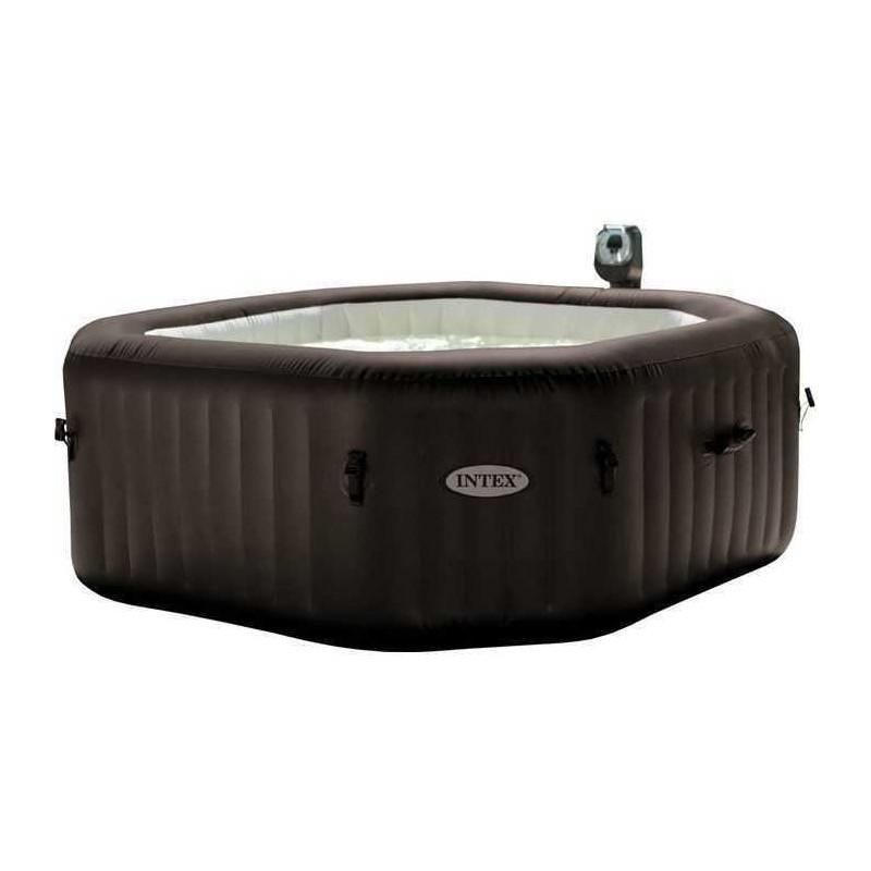 Intex Purespa 4 Seats Octagonal Jet Bubble Massage Hot Tub