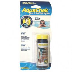 Testeur Aquacheck blanc (sel)