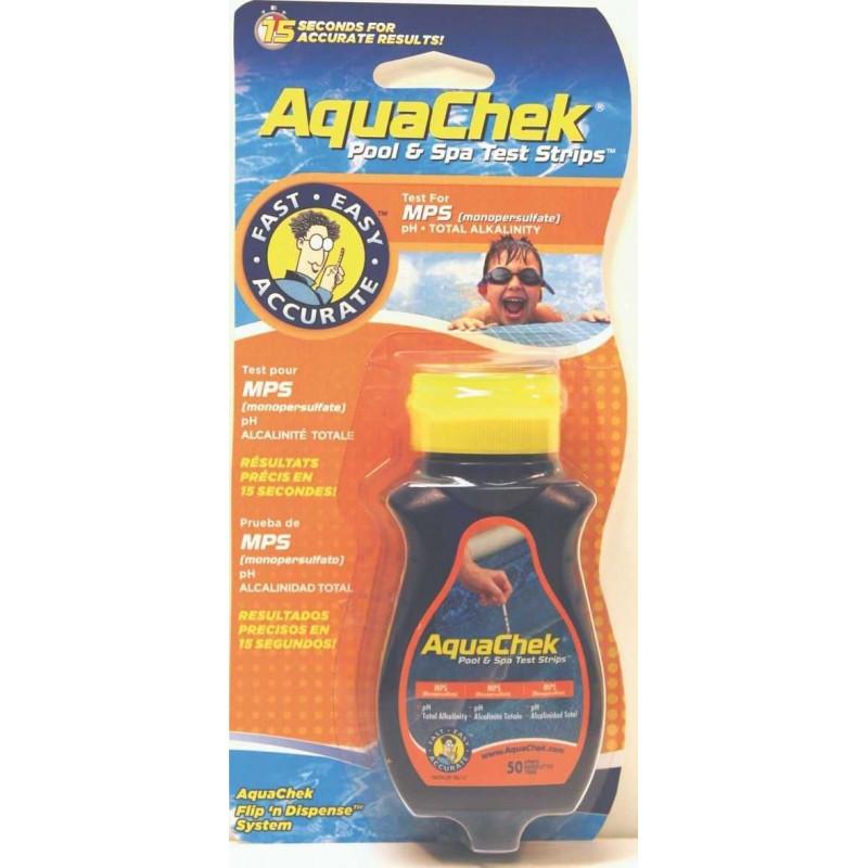 Testeur Aquacheck orange 3 en 1 (oxygène actif)