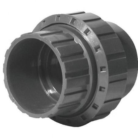 Union 3 pièces PVC Ø63mm
