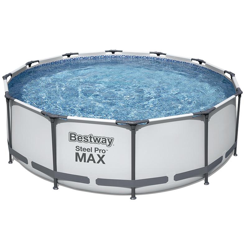 Piscine tubulaire Ronde Bestway Steel Pro Max 3,66x ↕1,22m