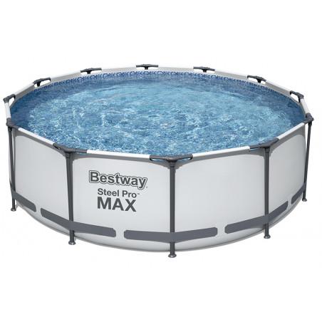 Bestway Steel Pro Max Rundrohrbecken 4,88x ↕1,22m