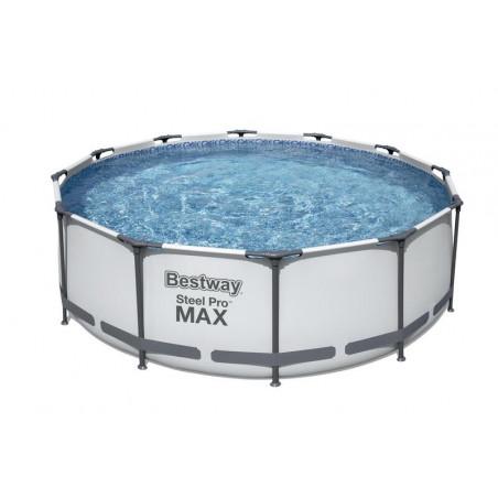Piscine tubulaire Ronde Bestway Steel Pro Max 3,66x ↕1,00m