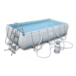 Bestway Power Steel Rectangular Tubular Pool 4,04x 2,01x ↕1,00m
