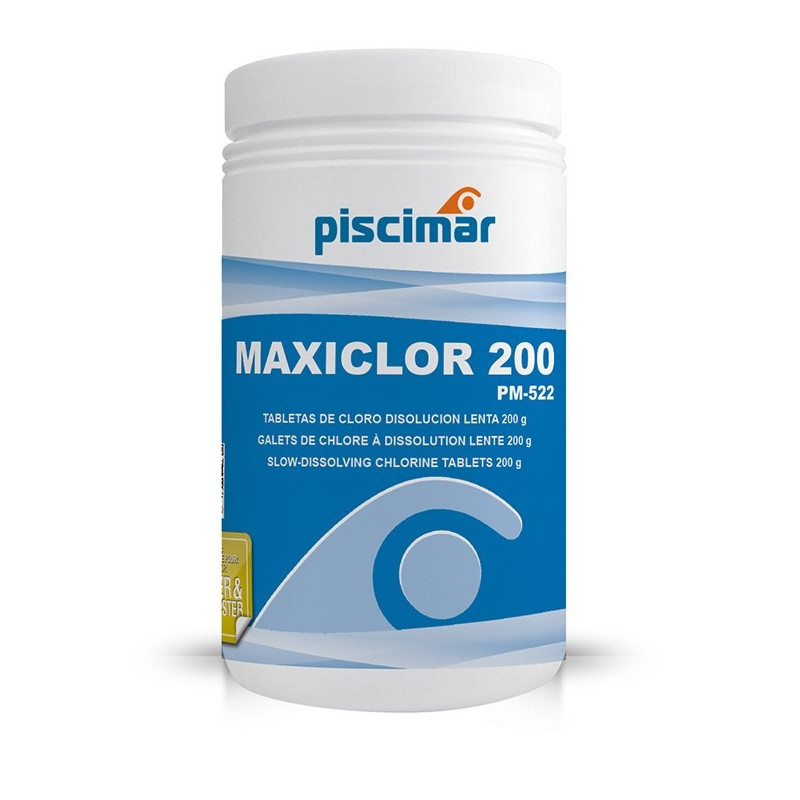 Chlore Lent Maxiclor 200 GR Piscimar