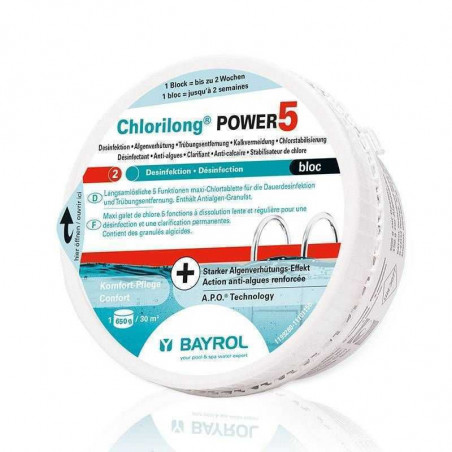 Chlorilong Power 5 Bloc Bayrol (anciennement Multibloc)