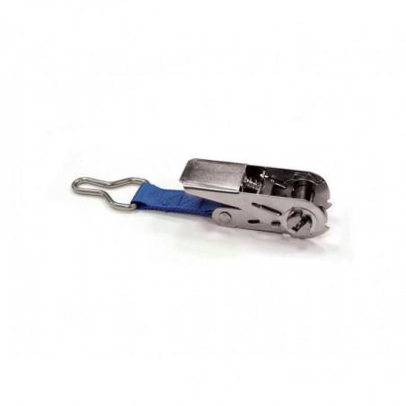 Cliquet inox avec anneau D pour bâche à barres
