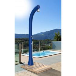 Socle de douche en bois avec collecteur d'eau