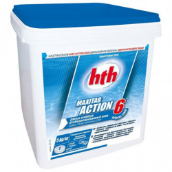 HTH Maxitab action 6 spécial liner-chlore lent multiactions