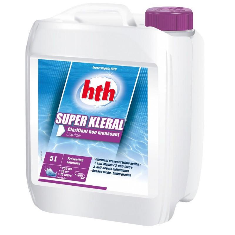 HTH Super Kleral-anti-algues et clarifiant triple action