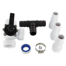 Kit by pass 32-38mm pour piscine Hors-sol
