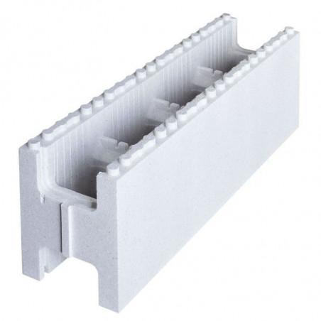 Kit escalier droit largeur piscine pour structure C-BLOCK PREMIUM 1