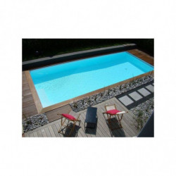 Kit Piscine Polystyrène C-BLOCK CLASSIC Rectangle Hauteur 1m50