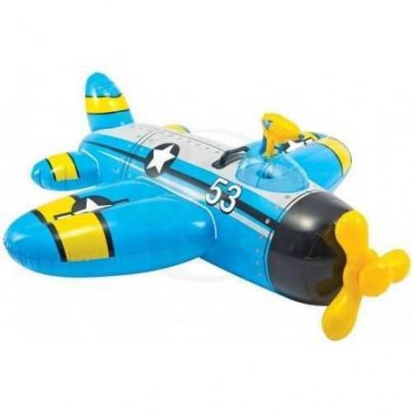 Avion à chevaucher + Pistolet à eau Intex