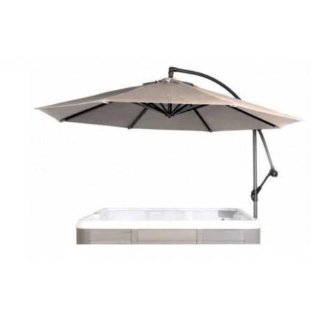 Parasol pivotant pour Spa.
