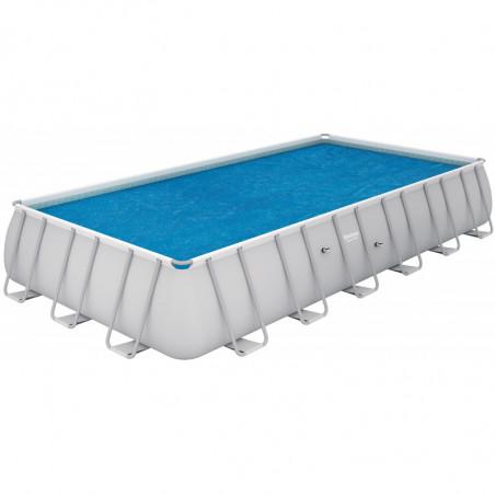 Bâche à Bulles Bestway pour piscine rectangulaire Tubulaire