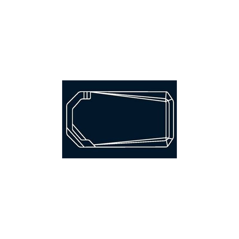 Bâche à bulles Bleue Quatro pour coque polyester Alliance Aiguemarine