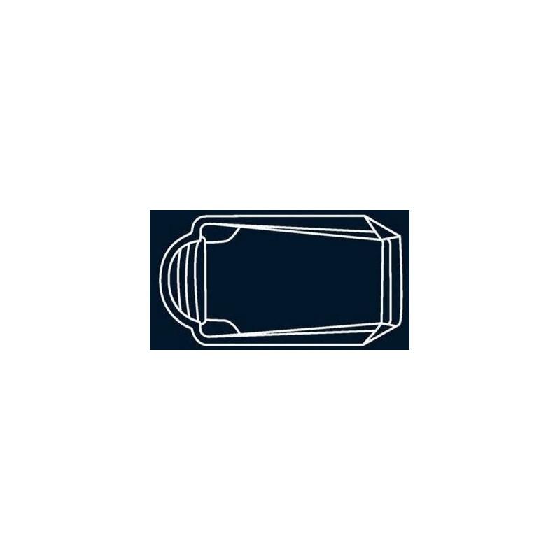 Bâche à bulles Bleue Quatro pour coque polyester Alliance Aventurine