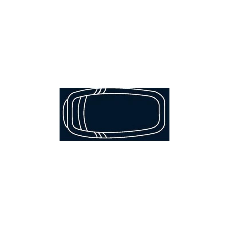 Bâche à bulles Bleue Quatro pour coque polyester Alliance Fluorite
