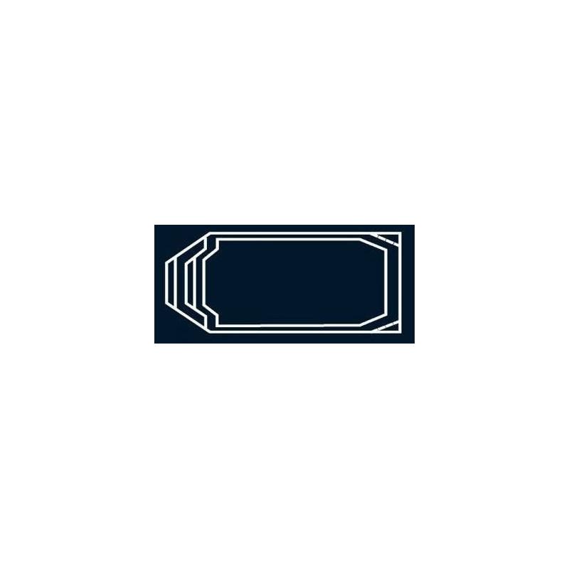 Bâche à bulles Bleue Quatro pour coque polyester Alliance Lazuli