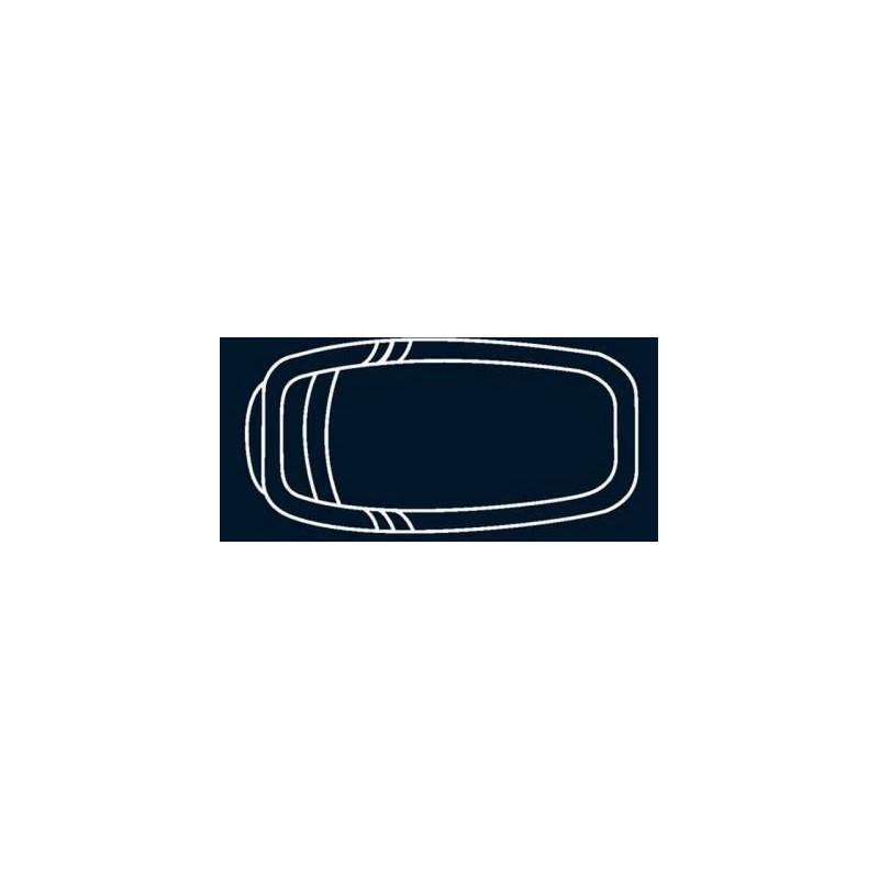 Bâche à bulles Bleue Quatro pour coque polyester Alliance Lolite