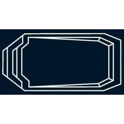 Bâche à bulles Bleue Quatro pour coque polyester Alliance Perle