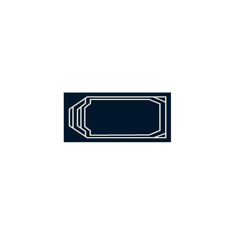 Bâche à bulles Bleue Quatro pour coque polyester Alliance Pyrope