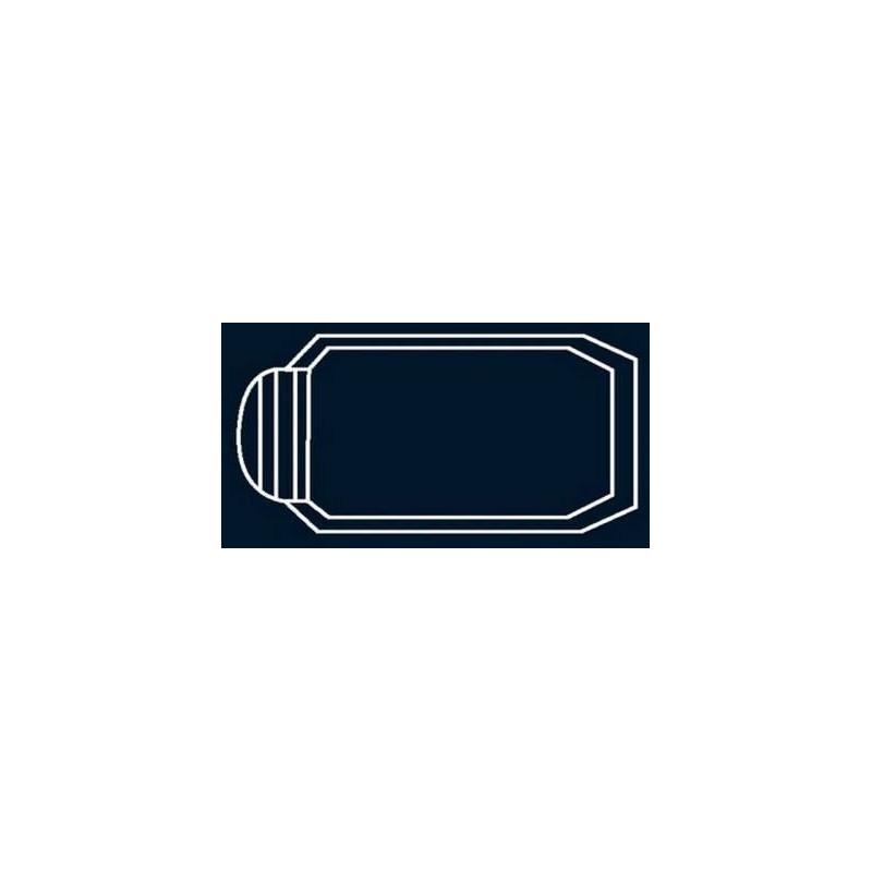 Bâche à bulles Bleue Quatro pour coque polyester Alliance Saphir