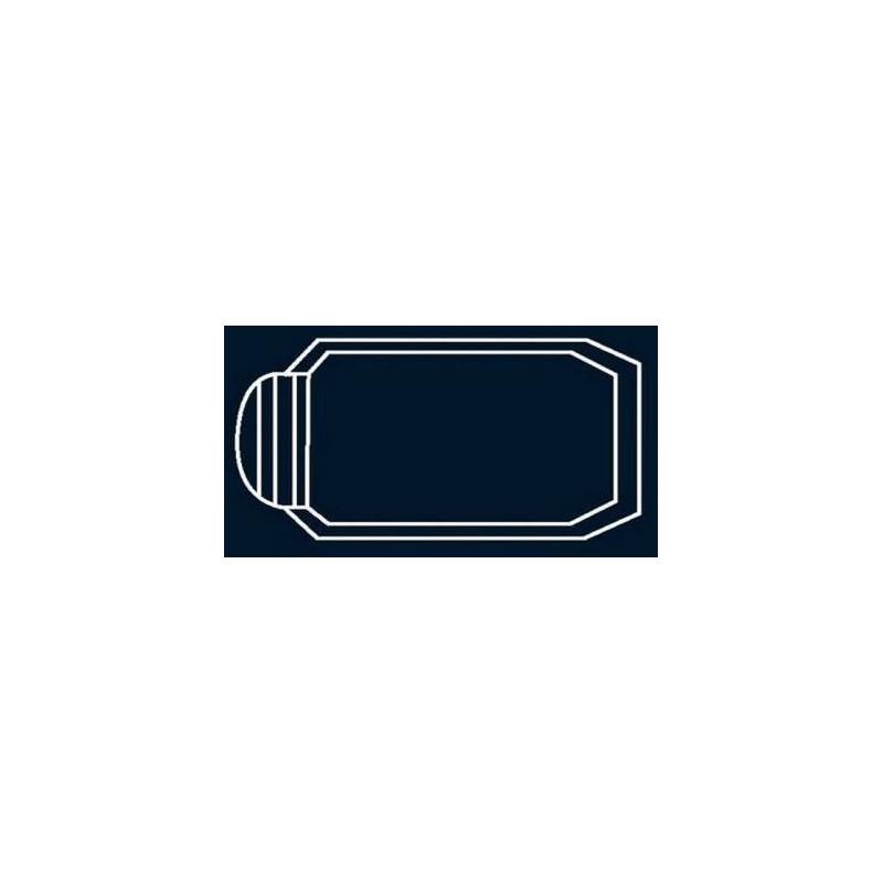 Bâche à bulles Bleue Quatro pour coque polyester Alliance Turquoise