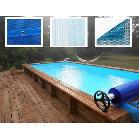 Bâche à Bulles compatible piscine Ubbink Rectangulaire
