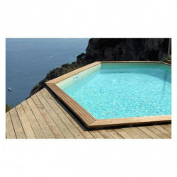 Piscine C-WOOD Octogonale
