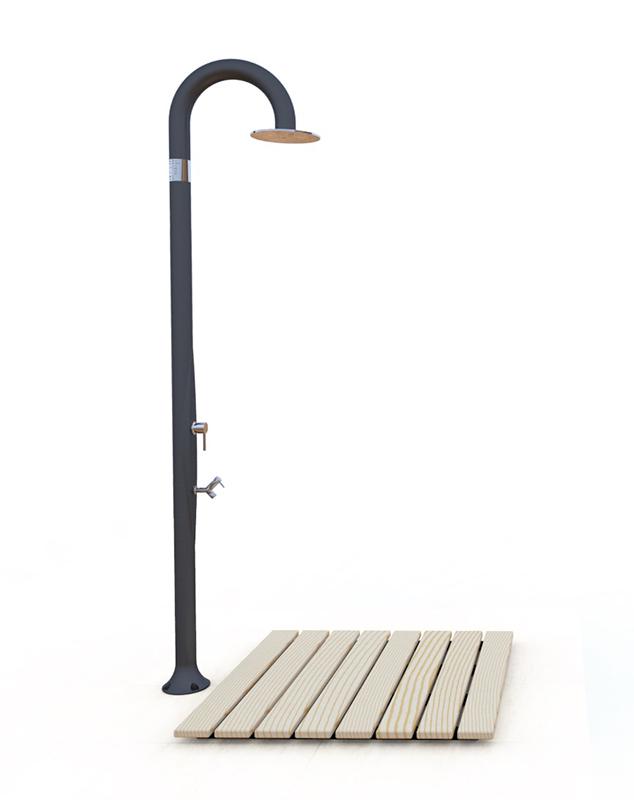 socle de douche en bois