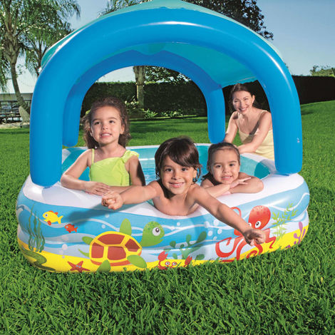 piscinette carrée bestway