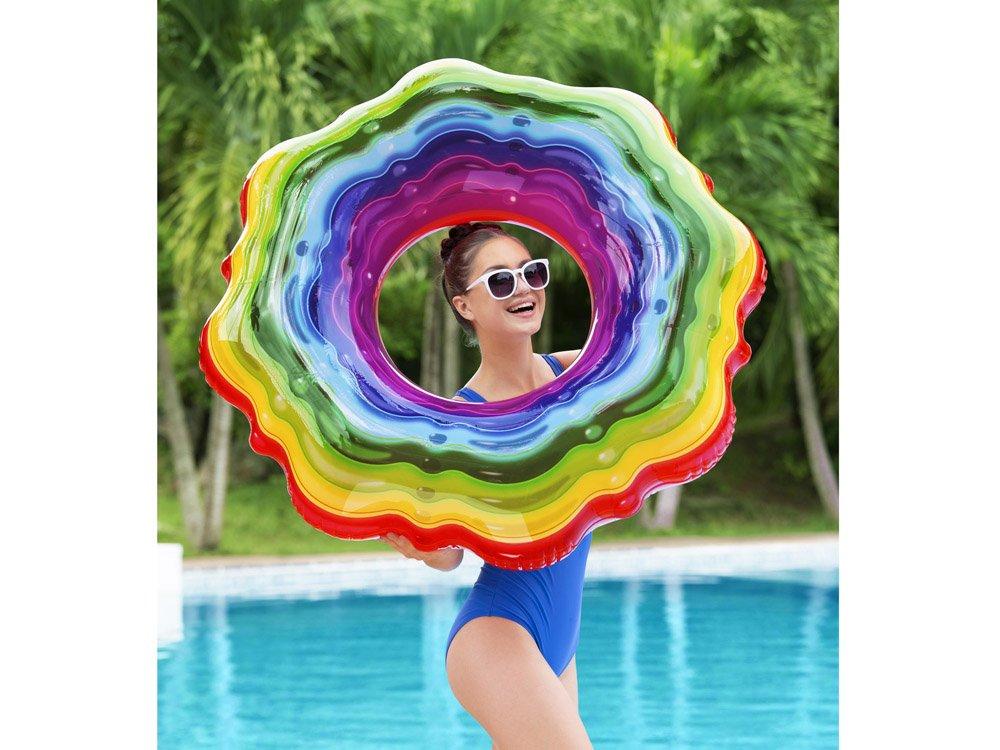 bouée rainbow bestway