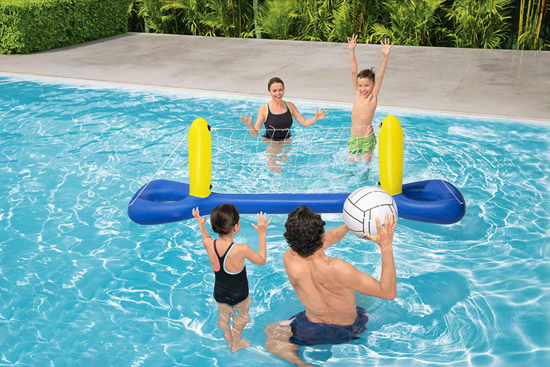 jeu de volleyball gonflable Bestway