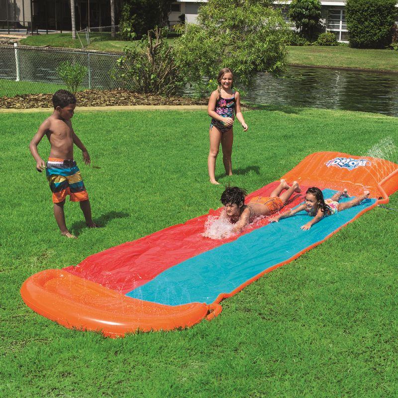 piste de glisse double slide bestway