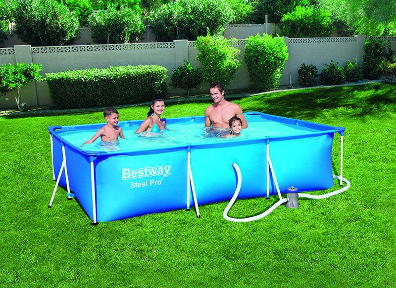 piscine steel pro bestway 3.00 x 2.01 x 0.66
