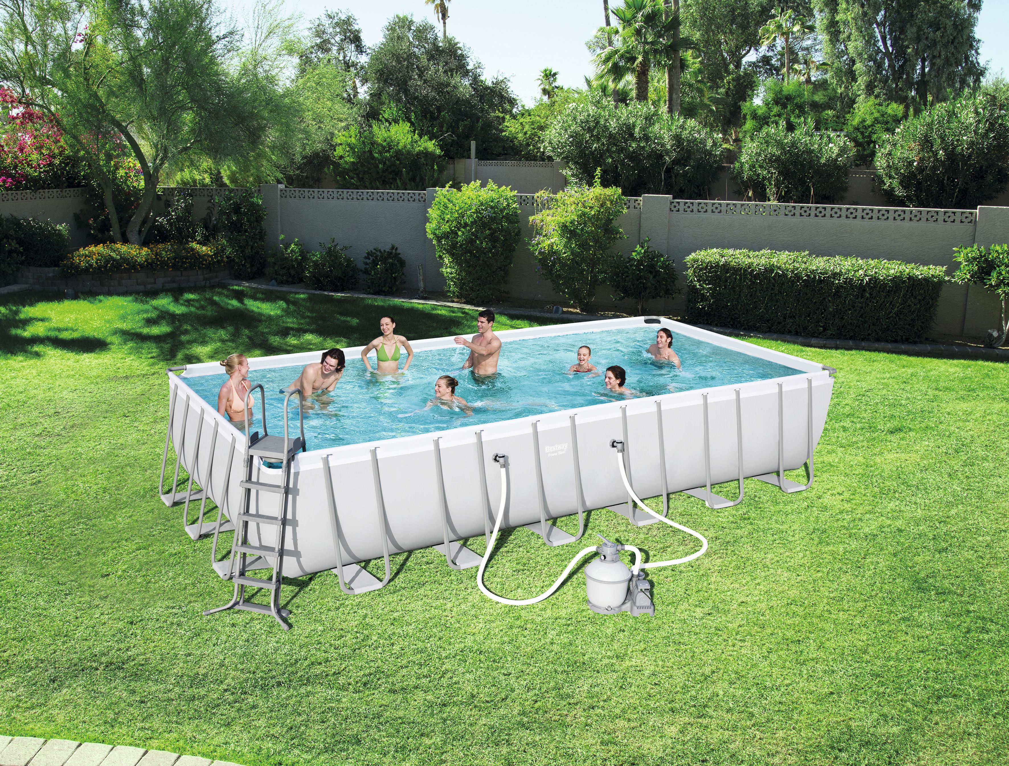 piscine tubulaire rectangulaire bestway 732 x 366 x 132