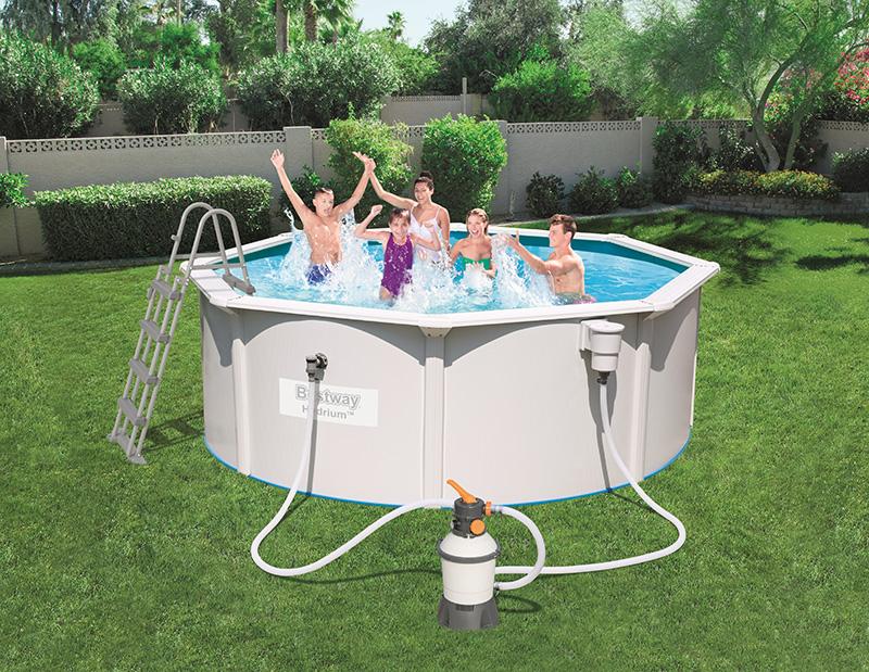 piscine ronde hydrium 3.60 x 1.20m