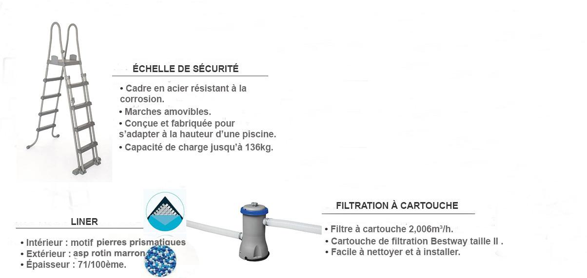 piscine steel pro max 3.66 x 1.00m