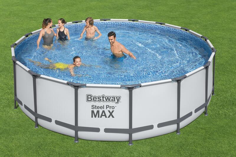 bestway steel pro max Rundrohrbecken 4,88 x 1,22m